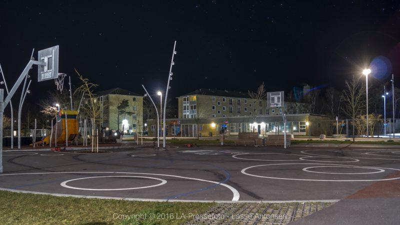 Legeplads på Motalavej i Korsør. Fotograf: Lasse Antonsen / Fix it media - 112news.dk (copyright).