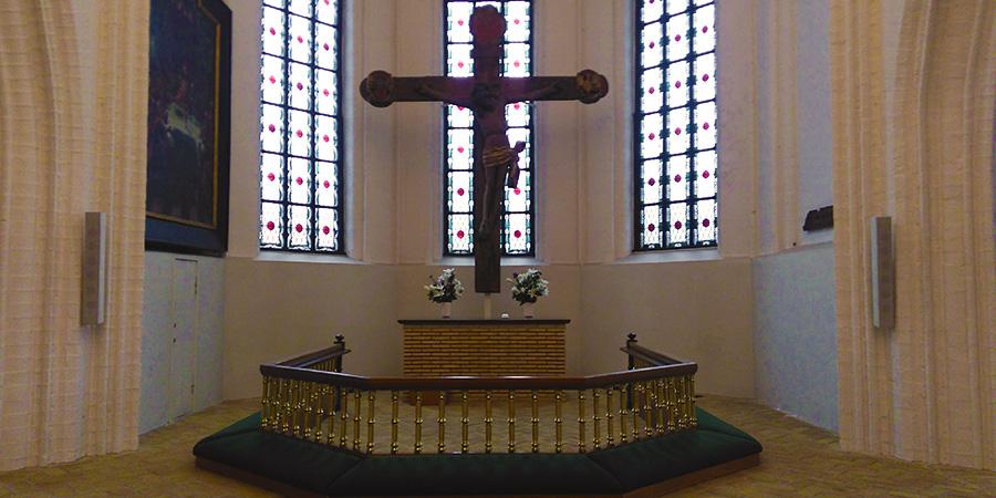 Sct. Mikkels Kirkes alter