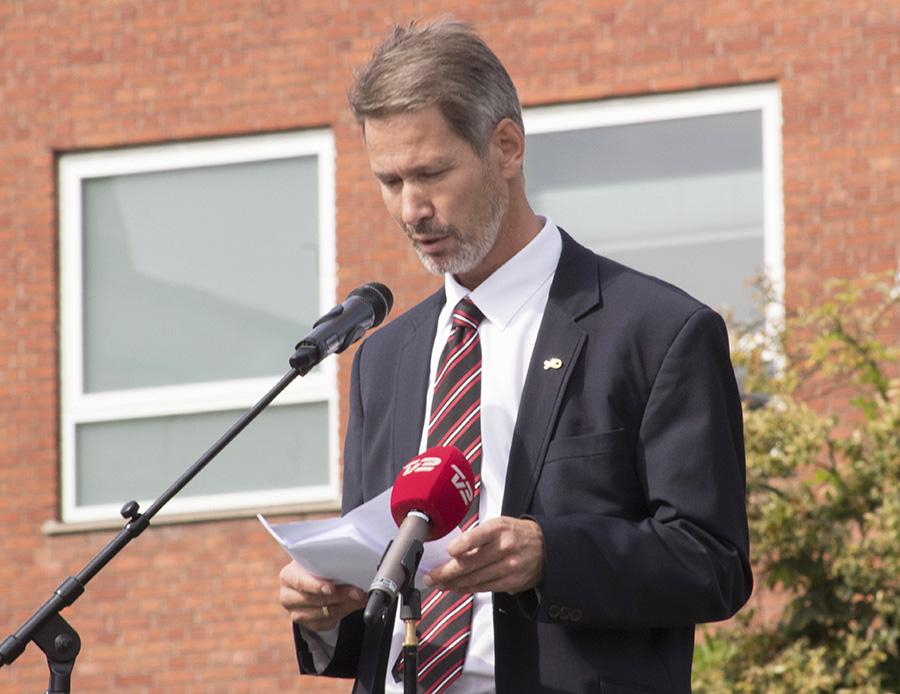 Borgmester Stén Knuth (V)