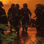 Ildebrand i et hus på Enghaven i Skælskør