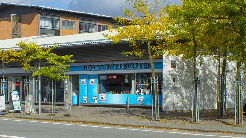Kiosken på Jacob Dampes Vej i Ringparken