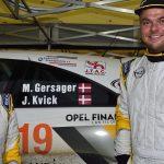 Rallycodriver fra Slagelse bliver danmarksmester
