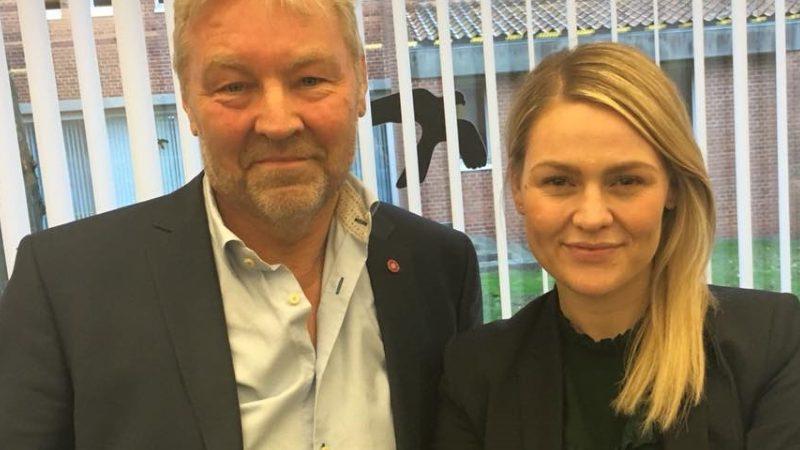 Villum Christensen og Laura Lindahl