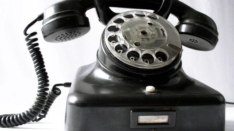 Gammel telefon