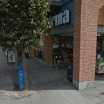 Irma lukker deres butik på Stenstuegade i Slagelse By