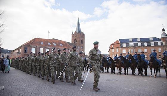 Foto: Niels Porsbøl / Trænregimentet