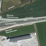 Motorvejsbro og ramper ved Tjæreby spærres
