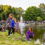 Flere tusinder til Sankt Hans-bål i Anlægget