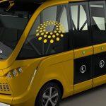 Førerløse busser på Slagelse Sygehus i 2019