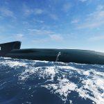 Russisk atomdrevet ubåd i Storebælt