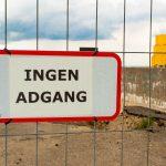 Kommunen udvider sine afspærringer på Halsskov