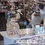 Video fra voldsomt røveri i kiosk i Slagelse By