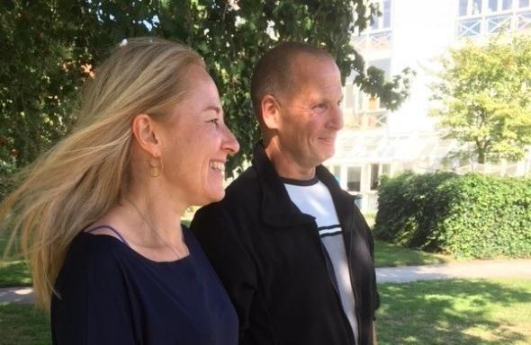 Hjertelæge Pernille Buch og Kim Lynghøj Bagger