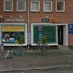 Røveri mod kiosk på Bredegade i Slagelse