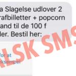 Falske SMS'er fra Panorama Slagelse