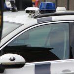 Bevæbnet korsoraner på banegården i Slagelse