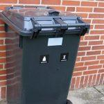 Slut med ugentlig tømning af affaldsbeholderen