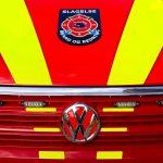 Bilbrand i nummerpladeløs bil i Korsør