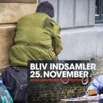 Landsindsamling støtter socialt hjælpearbejde i Danmark