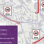 Lavere fartgrænser i Slagelse Midtby