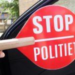 Narkopåvirket bilist truer med tæsk