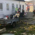Brand på Halsskov medførte større skader