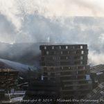 Brand i 150 paller på Industrivej i Skælskør