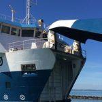Omø Færgen skal have ny skrue efter et havari