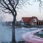 Varsel om forhøjet vandstand ved Storebælt