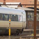 Politiet måtte rykke ud til en voldsom togpassager