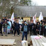 Flygtningebørn på lejrtur i Egeruphytten i Skælskør