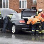Bilist væltede et træ i en soloulykke på Østre Alle