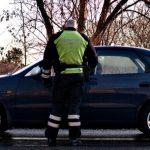Spritbilist forsøgte at køre fra politiet