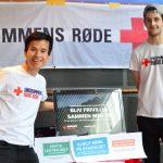 Ungdommens Røde Kors bød nye borgere velkommen