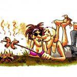 Sommeren står på grillmad med campylobacter