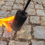 Sigtelser til energiske ukrudtsbrændere