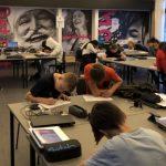 Ungdomsskolens tredje Læringslokomotiv i remise