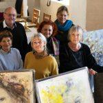 29 kunstnere udstiller deres kunst i 14 kirker