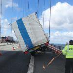 Kraftig blæst fører til for mange ulykker på Storebæltsbroen