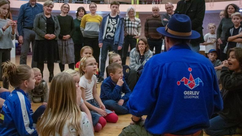 Foto: højskolernes 175-års fødselsdag på Gerlev Idrætshøjskole