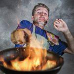 Ild og brand blandt de unge i køkkenet