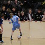 Skolefodbold i Spar Nord Arena (Antvorskovhallen)