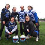 Slagelse-piger er vilde med amerikansk fodbold