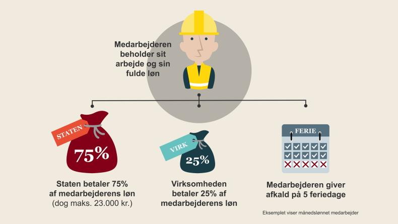 Grafik: Beskæftigelsesministeriet