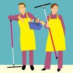 Sikrer rengøring i daginstitutioner, skoler og plejehjem