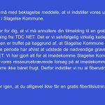 Bøvl mellem TDC og kommune stopper fibernet
