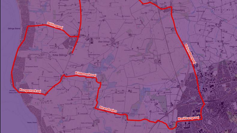 Kort: Slagelse Kommune