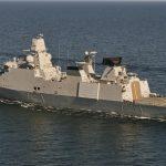 Forsvarsminister sender fregat af sted fra Korsør