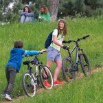 Skoleelever dyster om at cykle flest dage til skole