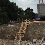 Renovering af broen over Vårby Å næsten færdig
